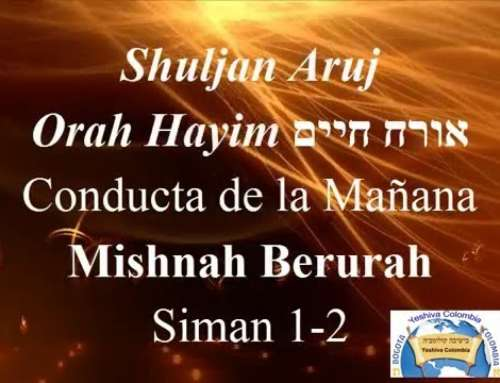 Shuljan aruj (Orah Hayim) אורח חיים Rabino Yojanan